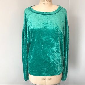 Free People Velvet Milan Layering Top